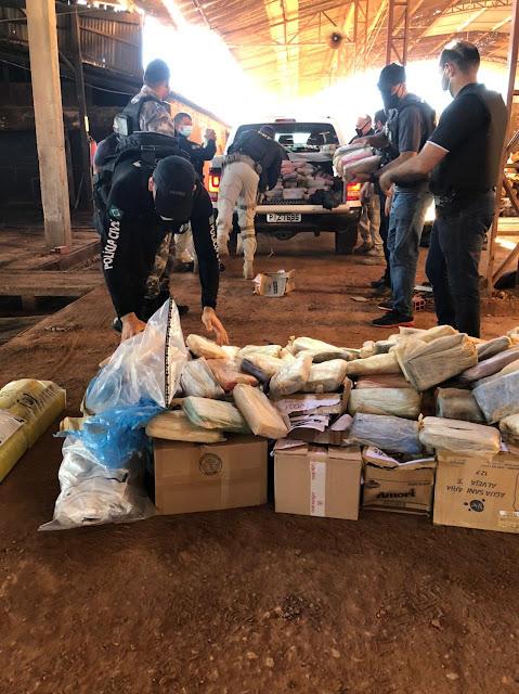 Mais de meia tonelada de droga é incinerada em Campo Maior
