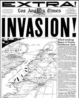 Prensa Día D Los Ángeles Times