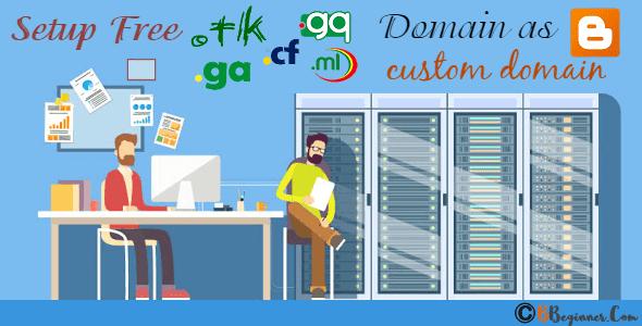 How To Setup Freenom Domains Tk Ml Cf Ga Gq As Blogger