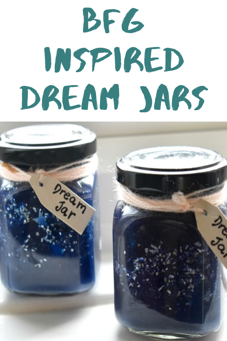BFG Inspired Dream Jars - To Celebrate Roald Dahl Day