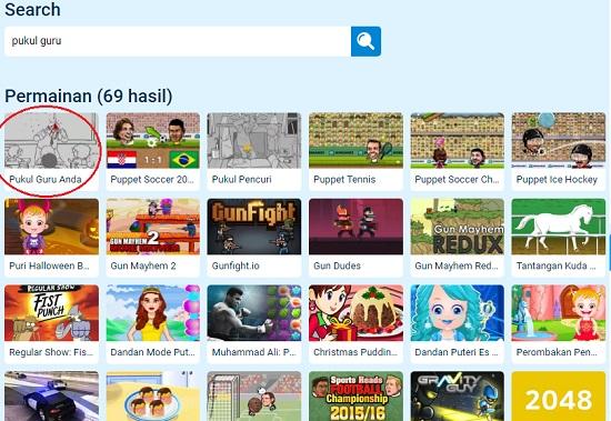 Heboh! Beredar Game Pukul Guru Anda di Internet