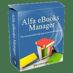 Alfa eBooks Manager v8.3.5.1 Full version