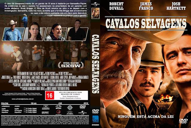 Capa DVD Cavalos Selvagens