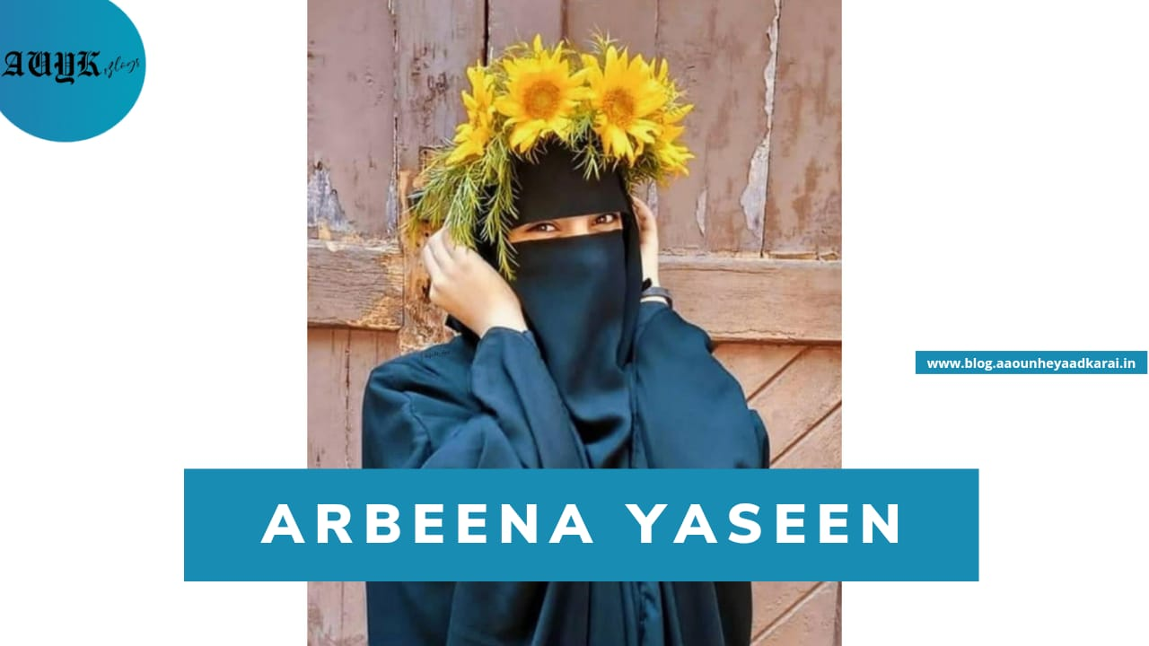 Arbeena Yaseen : One of the youngest female to start an online basket selling bussiness