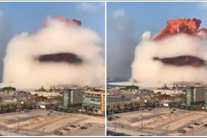 Sumber Ledakan di Lebanon belum Diketahui, Seluruh Pemimpin Dunia Ucapkan Belasungkawa