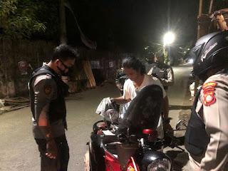 Cegah Kriminalitas dan Tawuran, Tim BKO Polres Pelabuhan Makassar Rutin Patroli Malam
