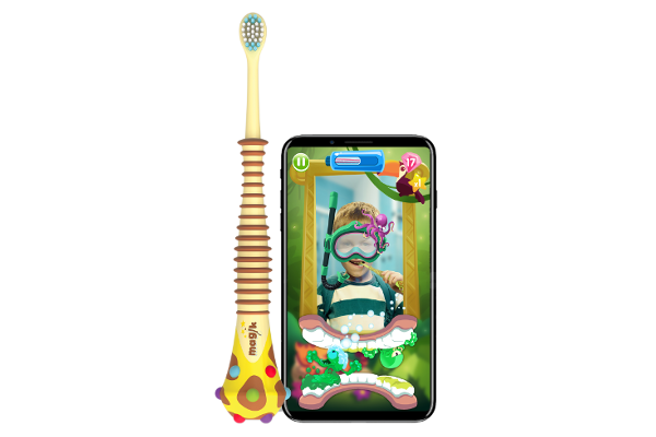 CES 2018: Kolibree launches world's first Augmented Reality (AR) toothbrush for kids, the Magik
