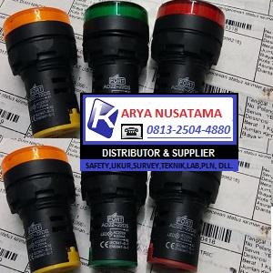 Jual PL LED 22mm AD22-22DS 220VAC di Batam