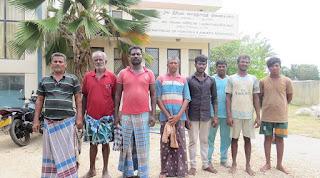 இராமேஸ்வர மீனவர்கள் விடுவிக்கப்பட்டனர்