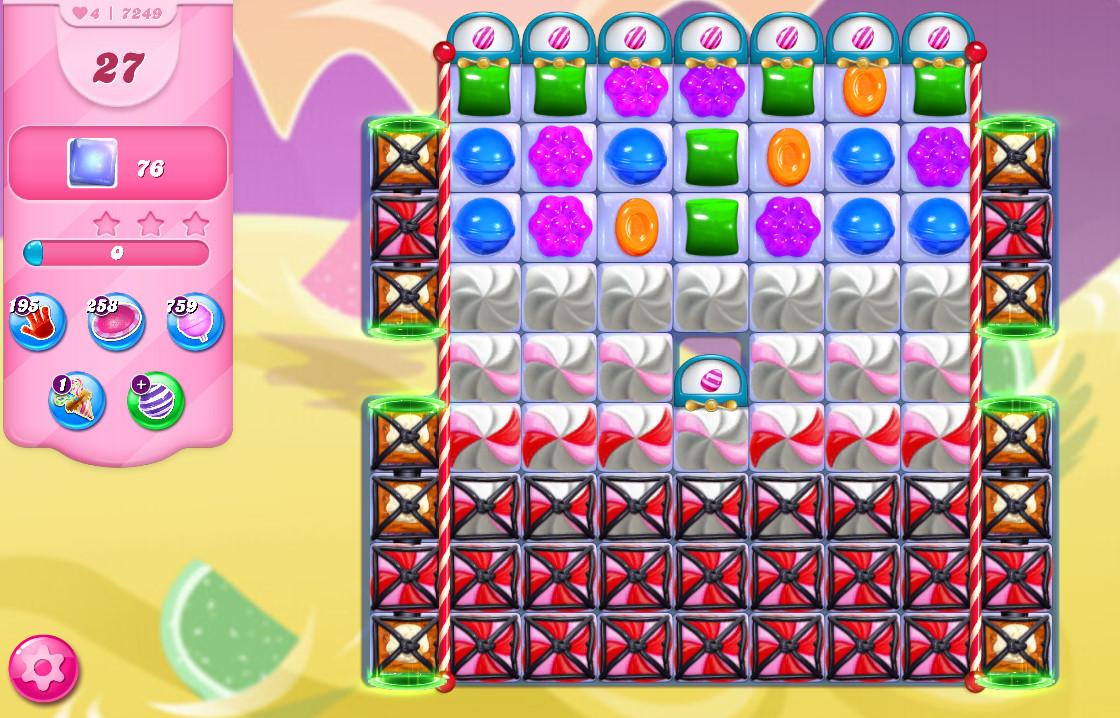 Candy Crush Saga level 7249
