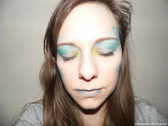 Monday shadow challenge - turquoise