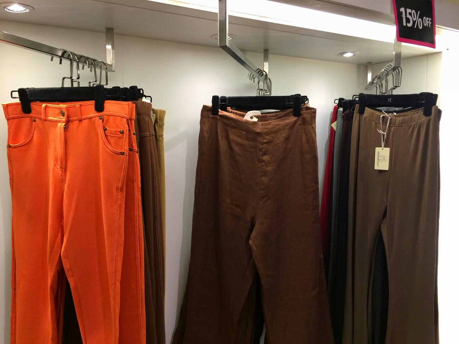 Nishat Linen Ready to wear trousers - Pakistani designer wear