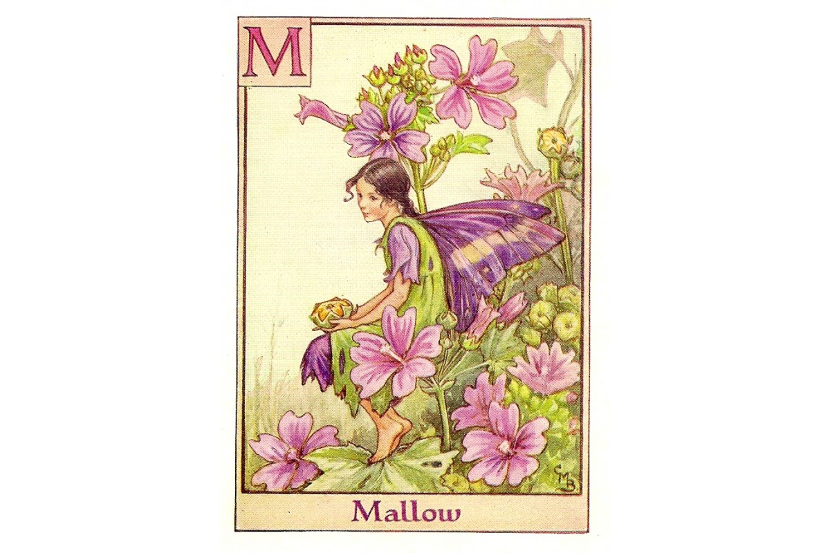 Halcyon Days: Just for Fun: Flower Fairies and Fairy Gardens