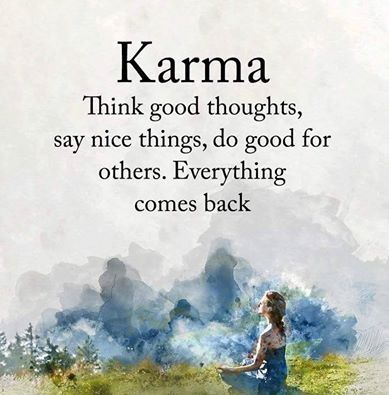 Karma Quote about Good