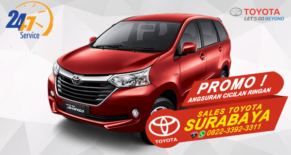 Promo Angsuran Cicilan Ringan Toyota Avanza Surabaya