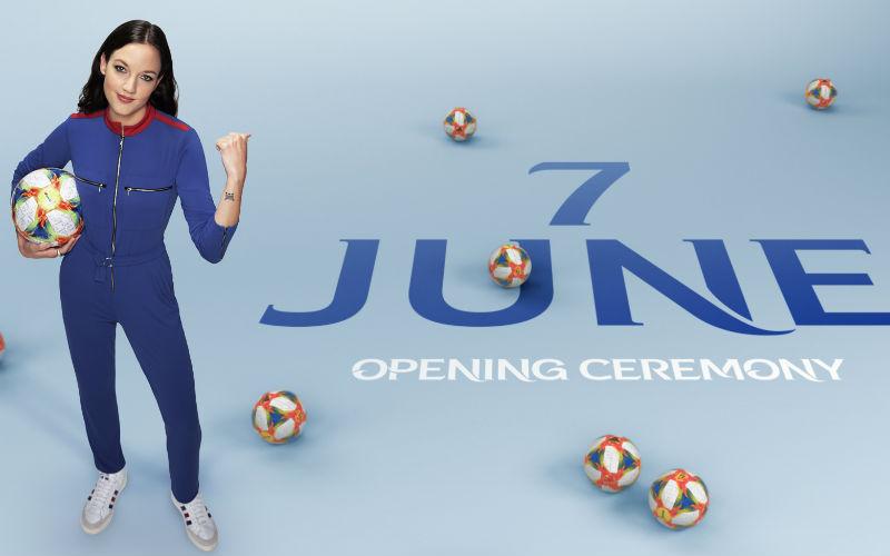 Jain en el Mundial femenino de futbol Francia 2019