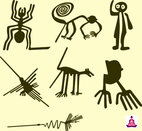 Algunas de las más conocidas lineas de Nazca