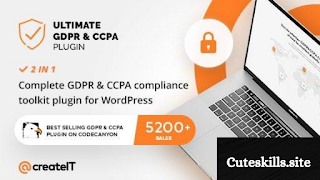 Download free Ultimate GDPR WordPress plugin v2.1