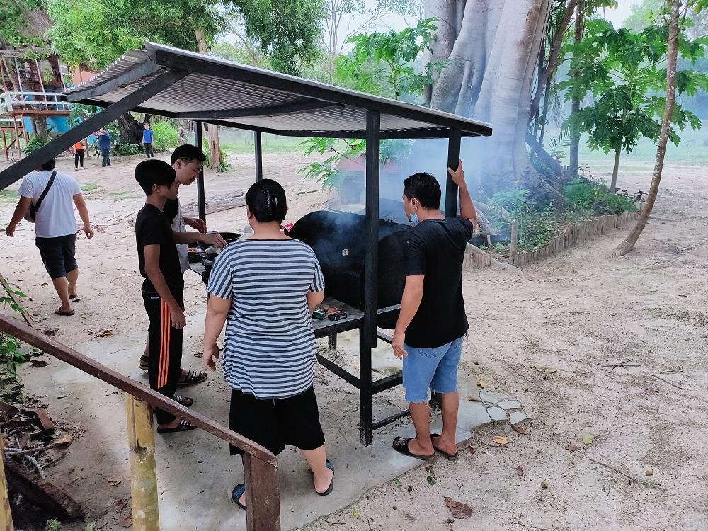 Family Gathering di Blue Eyes Beach Resort Kuala Penyu