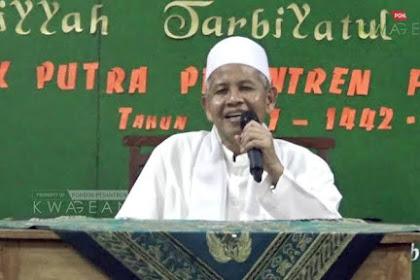 NASIHAT KH. ABDUL HANNAN MA'SHUM (PENGASUH PODOK KWAGEAN)