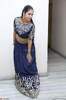 Ruchi Pandey in Blue Embrodiery Choli ghagra at Idem Deyyam music launch ~ Celebrities Exclusive Galleries 033.JPG