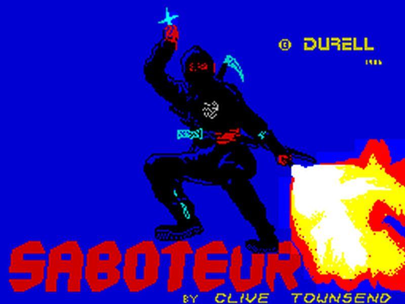 Indie Retro News Saboteur A Brilliant Zx Spectrum Game Gets A
