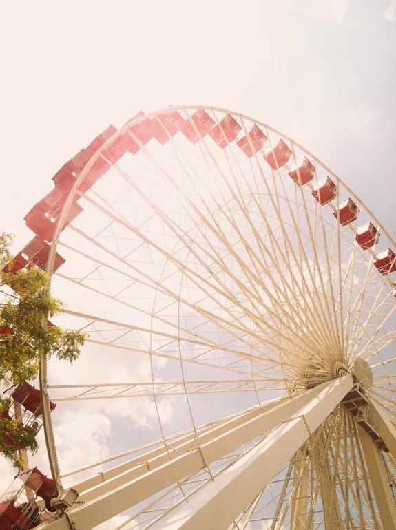 2 days in Chicago itinerary: Navy Pier ferris wheel