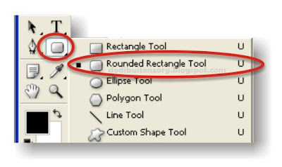 Rounded Rectangle Tool U
