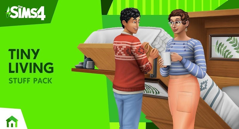 THE SIMS 4 PATCH UPDATE TINY LIVING STUFF