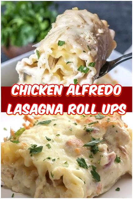 #CHICKEN #ALFREDO #LASAGNA #ROLL #UPS