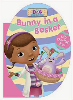 Doc McStuffins Bunny in a Basket