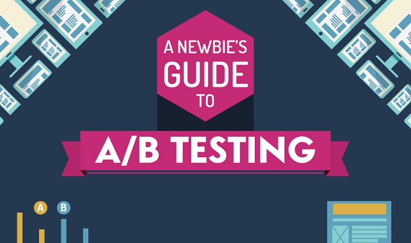 A Newbie's Guide to A/B Testing - #infographic
