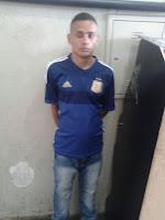 ROMU de Carapicuíba detém traficante próximo a favela Municipal em frente ao fórum