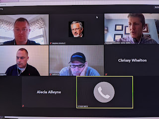 screen grab of virtual meeting