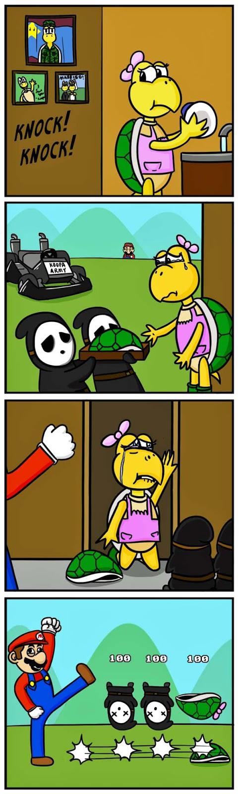 Super Mario und der Tod lustige Bilder