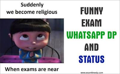 Funny Exam DP | Exam Funny DP | Exam DP for Whatsapp Funny