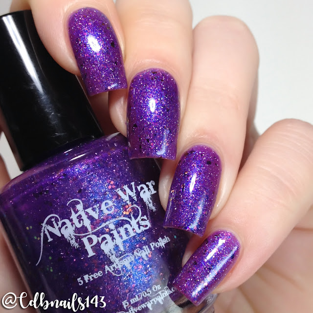 Native War Paints-July's Night Sky