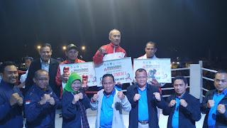 Kasrem 162/WB Tutup Kejurnas Tinju Amatir Danrem 162/WB dan Bupati KSB Cup 2019