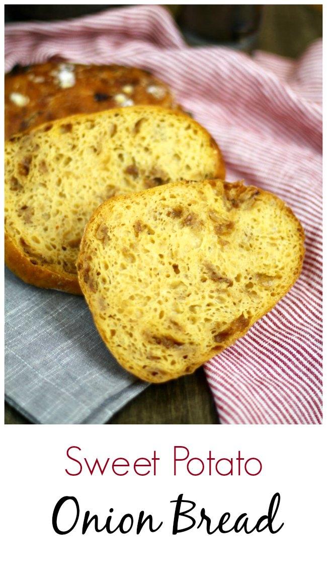 Caramelized Onion and sweet potato Bread #bread #sweetpotato #caramelizedonion
