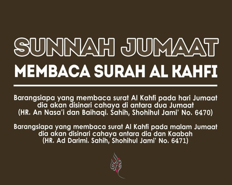 Membaca Surah Al Kahfi