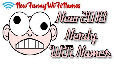 nerdy wifi names
