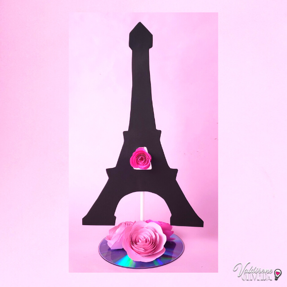 Diy - tema barbie paris-valdirene oliveira