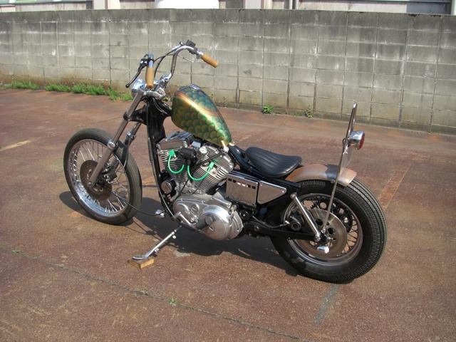 Harley Davidson Sportster By Overload Machinery Hell Kustom