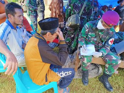 Batalyon Kesehatan TNI Bantu Pengobatan Korban Gempa Sulbar