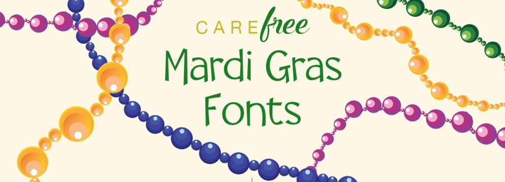 Free Mardi Gras Fonts
