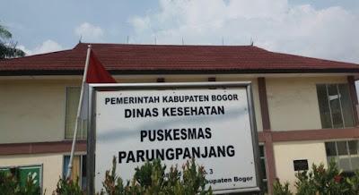 lokasi pusat kesehatan parung panjang