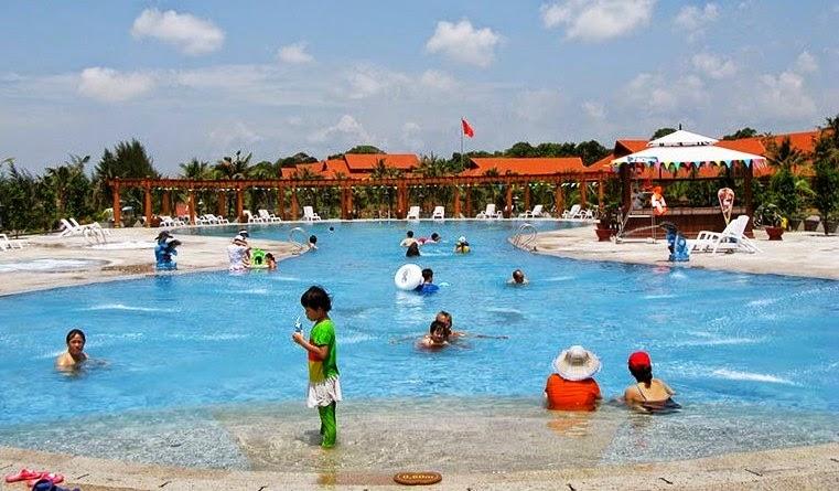 Tắm khoáng nóng ở Bình Châu Vũng Tàu