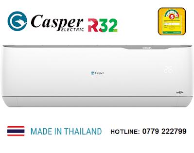 Giá điều hòa 24000BTU inverter 1 Chiều Casper GC-24TL32