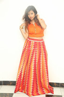Shubhangi Bant in Orange Lehenga Choli Stunning Beauty ~  Exclusive Celebrities Galleries 078.JPG