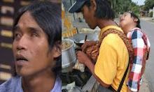 Istrinya sudah meninggal, Penjual Siomay Keliling Asal Lampung Selalu Menggendong anaknya saat Berjualan